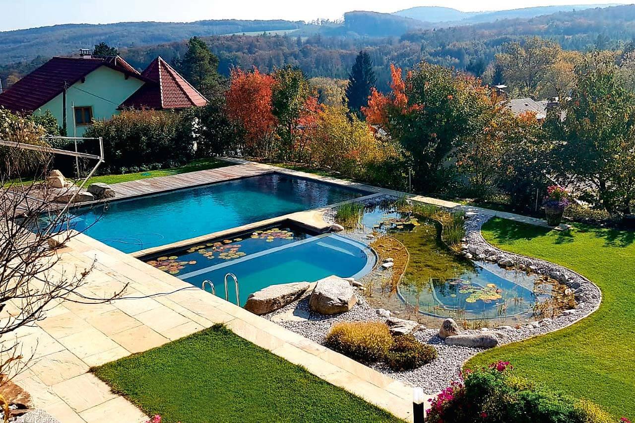 Schwimmteich Im Eigenen Garten Pool For Nature
